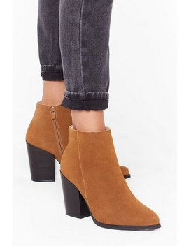 suede-with-me-ankle-boots by nasty-gal