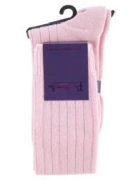 Ladies 1 Pair Pantherella 85% Cashmere Rib Knee High by Sock Shop