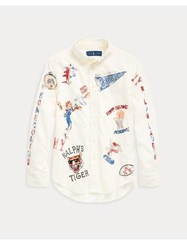 cotton-corduroy-graphic-shirt by ralph-lauren
