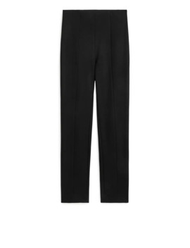 Slim Fit Stretch Trousers by Arket