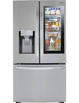 235-cu-ft-french-door-in-door-counter-depth-refrigerator-with-craft-ice---printproof-stainless-steel by lg