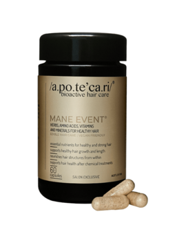 Apotecari Mane Event 1 Month Supply 60 Capsules by Apotecari