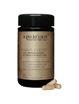 Apotecari Mane Event 2 Month Supply 120 Capsules by Apotecari