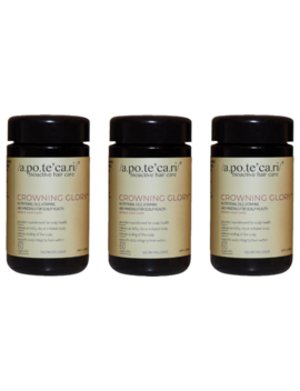 Apotecari Crowning Glory 3 Month Supply 180 Capsules by Apotecari