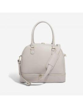 Taupe Handbag by Stackers