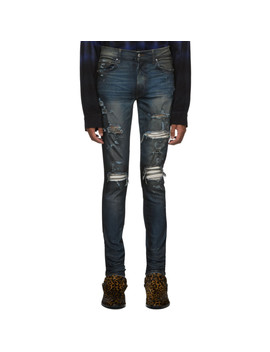 indigo-rough-patch-jeans by amiri