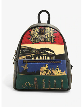 loungefly-harry-potter-universe-mini-backpack---boxlunch-exclusive by boxlunch