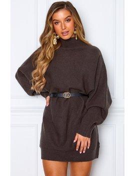 what-you-want-knit-dress-dark-grey by white-fox