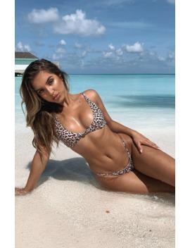 Miami Bikini Top Leopard by White Fox