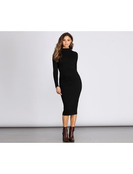 just-a-midi-sweater-dress by windsor