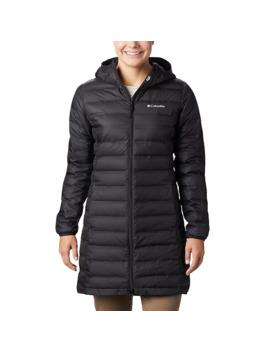 Women's Lake 22™ Down Long Hooded Jacket by Columbia Sportswear