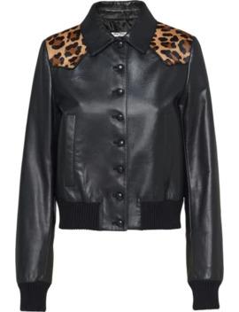 animal-print-bomber-jacket by miu-miu
