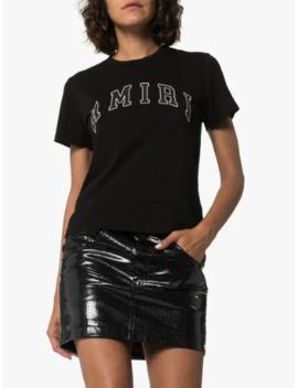 logo-print-cotton-t-shirt by amiri