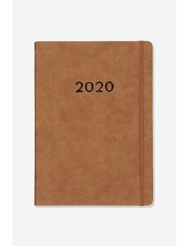 2020 A4 Weekly Buffalo Diary by Cotton On