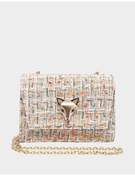 Boucle Betsey Crossbody Bone Multi by Betsey Johnson