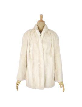 soft-mink-fur-mink-fur-ladys-pearl-mink-half-coat-fur-ladys-medium-size-considerable-ivory-outer-mink-coat by rakuten-global-market