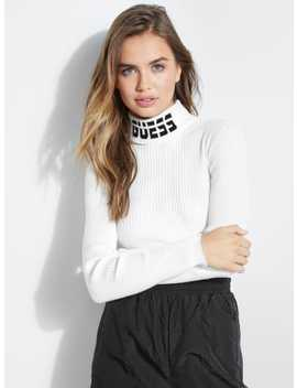 holly-logo-turtleneck by guess