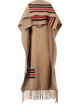 fringed-cape by burberry