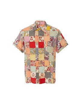 kolkata-patchwork-shirt by bode