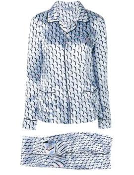 patterned-pajama-set by prada
