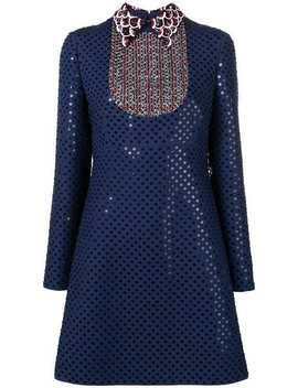 sequinned-polka-dot-dress by valentino