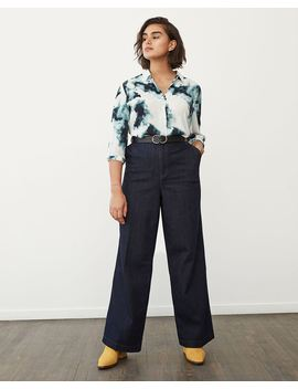 High Waisted Wide Leg Jeans by Reitmans