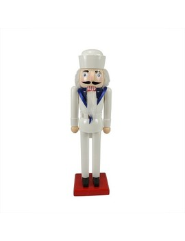"""northlight-14""""-wooden-navy-sailor-christmas-nutcracker-in-dress-whites by northlight"""