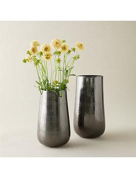 Black Nickel Vase by Terrain