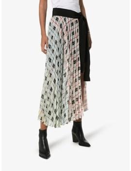 blanche-layering-micro-pleat-skirt by silvia-tcherassi
