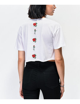 empyre-kipsy-rose-white-crop-t-shirt by empyre