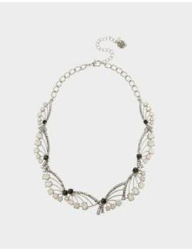 Get Your Wings Spray Collar Crystal by Betsey Johnson
