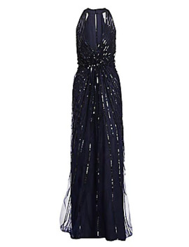 sequined-&-embroidered-halter-gown by monique-lhuillier