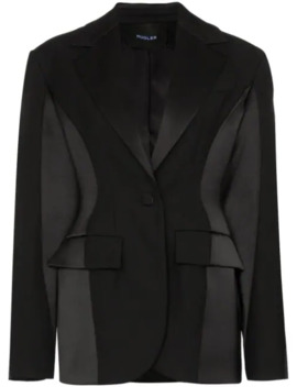exaggerated-silhouette-blazer by mugler