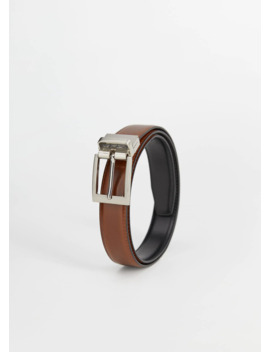 leather-reversible-belt by mango