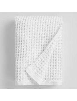 white-waffle-weave-cotton-bath-towel by world-market