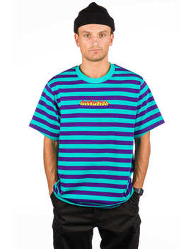Horizontal Stripe T Shirt by Teddy Fresh