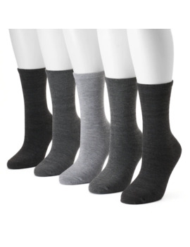 womens-sonoma-goods-for-life-5-pk-solid-crew-socks by sonoma-goods-for-life