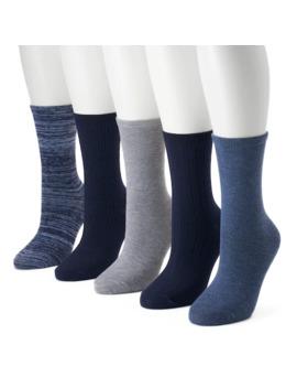 womens-sonoma-goods-for-life-5-pk-textured-crew-socks by sonoma-goods-for-life