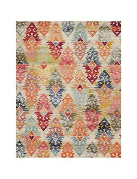 ariyah-gray_orange_yellow-area-rug by bungalow-rose