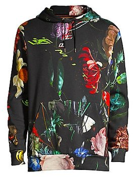 new-masters-floral-cotton-hoodie by paul-smith