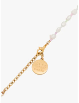 gold-tone-beaded-pearl-necklace by by-alona
