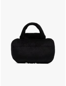 black-large-pawda-handbag-pet-toy by haute-diggity-dog