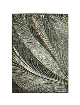 embossed-feathers-wall-décor by bloomsbury-market