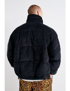 urban-outfitters-–-wattierte-jacke-aus-cord-in-stahlgrau by urban-outfitters-shoppen