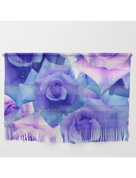 bouquet-de-fleur-wall-hanging by society6
