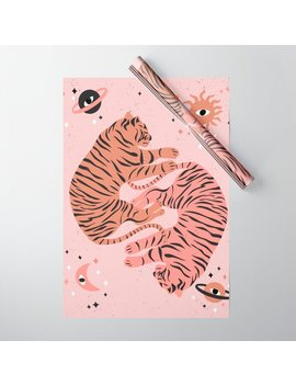 dreaming-tigers-wrapping-paper by society6