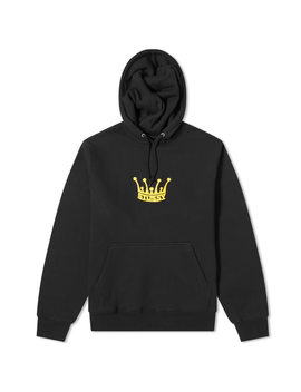 stussy-chenille-crown-applique-hoody by stussy