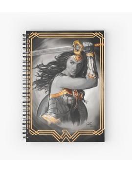 wonder!-spiral-notebook by gustavo-barroni