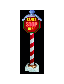 premier-decorations-santa-stop-here-sign by premier-decorations-ltd