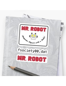mr-robot-sticker by pancom